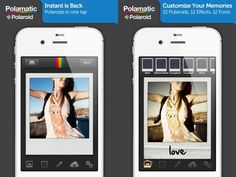 apps de fotografia instagram Polamatic
