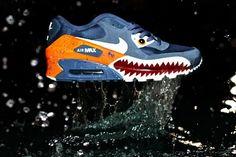 NIKE AIR MAX 90 PIRANHA (CUSTOM)   Sneaker Freaker