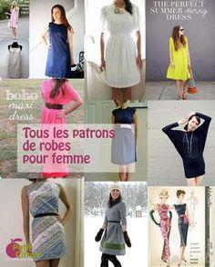 La liste de tous les patrons & DIY de robes pour femme « Blog de Petit Citron
