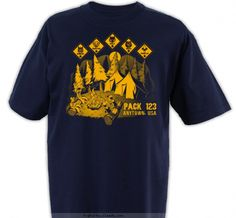 class b shirts vote April pack meeting...Campfire Stories - Cub Scout™ Pack Design SP3267