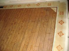 Hometalk :: Painted Floor - A 1964 Single-Wide Mobile Home Make-Over