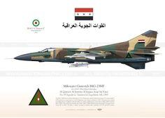 MiG-23MF 23167 IrAF TC-60