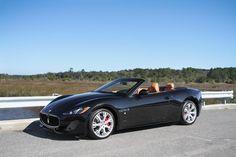 J7 Motosports | Used - 2013 Maserati GranTurismo Convertible, Nero Carbonio Metallic