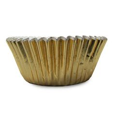 1 1/2 x 3 x 2 Gold Foil Baking Cups/Case of 1728
