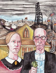 how fossil fuels have tainted the american gothic - elephant