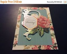 August Sales Gorgeous 3D For Your Wedding Greeting with by EMTWTT