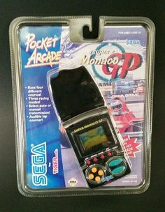 Sega Super Monaco GP Handheld Electronic LCD Pocket Arcade Video Game Tiger New #SegabyTigerElectronics