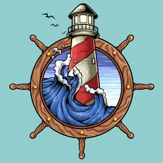 Discover thousands of Premium vectors available in AI and EPS formats Tattoo Drawings, Art Drawings, Desenhos Old School, Retro Surf, Nautical Art, Vintage Nautical, Tatuagem Old School, Oldschool, Lettering Styles
