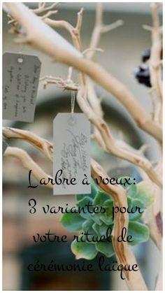 l'arbre à voeux: 3 variantes pour votre cérémonie d'engagement                                                                                                                                                                                 Plus