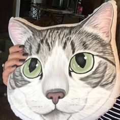Marisa Mitchem added a photo of their purchase   unique gift for #catlovers #cats #catpillow #catloversgift