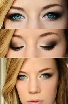 Natural Smokey Eye | Makeup by Louisa: Eye Shadow Styles