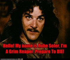 Omg I had no idea the head reaper from Dead Like Me was the same guy that was in Princess Bride!   What a trip.