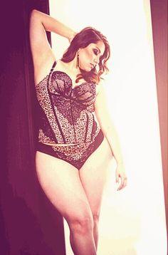 Sexy #plussize #lingerie #curves