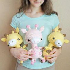 Амигуруми: Жирафик. Бесплатная схема для вязания игрушки. FREE amigurumi pattern. #амигуруми #amigurumi #схема #pattern #вязание #crochet #жираф #жирафик #giraffe
