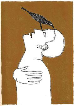 Aguafuertes raros y diseños asombrosos para Ulises por el artista italiano Mimmo Paladino | Cosechas cerebrales