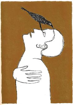 Ulysses' James Joyce by Italian Artist Mimmo Paladino - The Folio Society, Limited edition (1998)   Brain Pickings