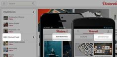 New Pinterest Edit Home Feed Option, Tracks Your Favorite Websites http://blog.pinterest.com/post/56525800591/making-pinterest-a-bit-more-personal