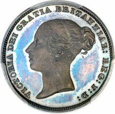 Great Britain, Great Britain: Victoria Proof 6 Pence 1839 PR64 Cameo PCGS,...