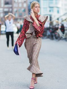 From new-season colour trends to instant outfit ideas—we've rounded up 24 excellent street style looks from Copenhagen Fashion Week.