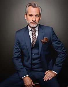 Silver Foxes — Christopher Gernon, model