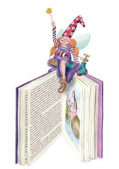 Dia+do+Livro+,+monica+carretero (450×637) || La Fée de la Lecture! || the Reading Fairy|