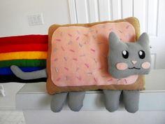 Nyan+Cat+Plushie+#howto+#tutorial
