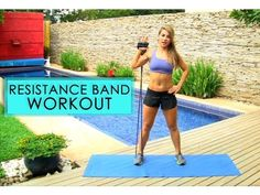 """""""Resistance Band Full Body Toning Workout"""" by AndreFit77 & STYLEmeFIT"""