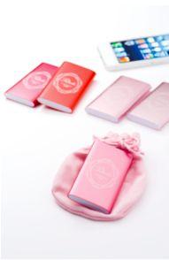 オトナカワイイデザインとカラーが注目のモバイルバッテリー。「Petile(プティール)MPC-R1000シリーズ」 [In store now] #iPhone