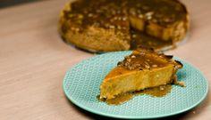 Videorecept na Tekvicový cheesecake Waffles, Steak, French Toast, Cheesecake, Breakfast, Food, Morning Coffee, Cheese Cakes, Eten