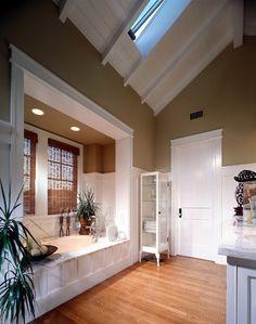 Newport Beach Custom Home 01 - traditional - bathroom - orange county - by Sennikoff Architects.....layout and skylight/roof