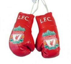 "Ready Steady Bed Liverpool Fc Mini Boxing Gloves by Ready Steady Bed. $9.50. Official FC Football Club Merchandise. Traditional Logo & Colours. Measurement: Gloves are approximately 10cm (3.7"") in length. The Fc Football Club Mini Boxing Gloves Feature The World Famous Liverpool Fc Football Club Official And Come In The Clubs Colours.Attached To A String The Liverpool Fc Football Club Official Mini Boxing Gloves Can Be Hung On Your Car'S Rear View Mirror Or Indeed ..."