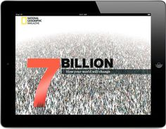 National Geographic 7 Billion series (website) If you need articles, photos, maps, and other graphics to spark discussion (and provide background) about the population issue, National Geographic has created a feature series on population.