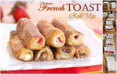 French Toast Roll Ups Recipe | DIY Cozy Home
