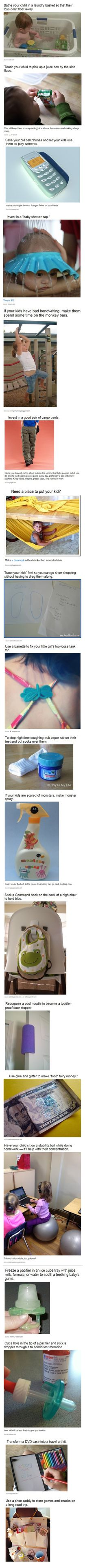 Life Hacks for Parenting