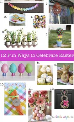 12 fun easter crafts & treats