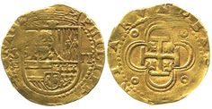 Gold cobs are the original doubloons, the very treasure sought most by pirates. Struck by hand at the mints of Mexico, Peru and Colombia, and also at mainland Spanish mints like Seville and Toledo, gold cobs denoted extreme value even in their own day and facilitated the movement of vast sums of money across the seas, where inevitably many of them ended up. In fact, the single largest source of gold cobs remains the Spanish 1715 Fleet off the east coast of Florida.