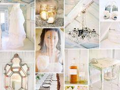 {snow white} white wedding