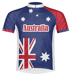 Primal Wear Australia Flag Cycling Jersey Mens Mens XXL Short Sleeve * Check out this great product. (Note:Amazon affiliate link)