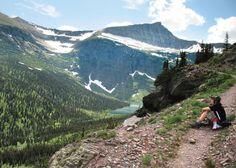 Triple Divide Pass in Glacier National Park