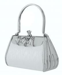 953087c0a Bolsa Prata Retrô, linda bolsa clutch em metal prata no estilo retrô.  #estilovintage