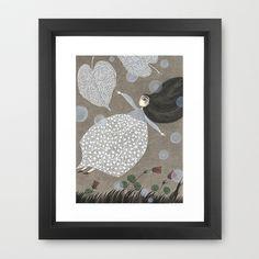 Summer's+End+Framed+Art+Print+by+Judith+Clay+-+$37.00