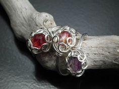 Rosette style rings - new design!