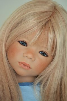 Monja  -  sculpted by Annette Himstedt, photo by Deborah Bowe