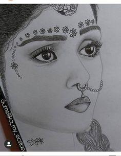 3d Art Drawing, Art Drawings Sketches Simple, Pencil Art Drawings, Krishna Painting, Krishna Art, Radhe Krishna, Art Painting Gallery, Mehndi Art Designs, Indian Art Paintings