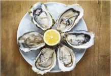 Want to know than oysters are good for your health? ★ Learn about the benefits of oysters, than can be harmful to the body and nutrition values. Raw Oysters, Fresh Oysters, Fresh Seafood, Flesh Eating Bacteria, Vitamin D, Food Safety, Safety Tips, Foods To Eat, Raspberries
