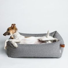 panier pour chien cloud 7 sleepy deluxe tweed grey