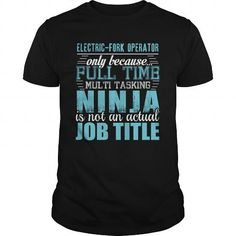 ELECTRIC FORK OPERATOR Ninja T Shirts, Hoodie. Shopping Online Now ==►…