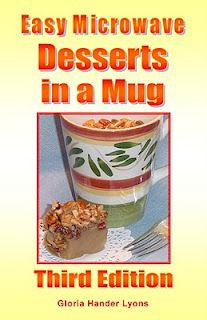 Easy Microwave Desserts in a Mug. For my husband who loves to make a quick treat.