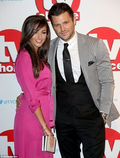 Mark Wright and Michelle Keegan made quite the impact as they hit the red carpet at the TV Choice Awards on Monday evening, held at the London Hilton Hotel on Park Lane. Mark Wright, Michelle Keegan, Choice Awards, Dapper, Hot Pink, Choices, Husband, Slim, Blazer