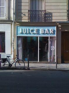 bob's juice bar / paris
